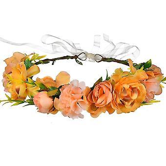 Kukka Garland Headband Häät Pää riisuttu