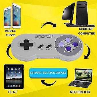 8bitdo Snes30 Wireless Bluetooth Gamepad Classic Controller Portable Neu