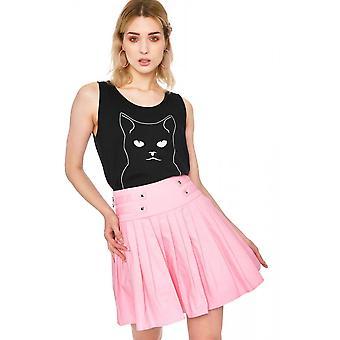 Jawbreaker Clothing My Sweetheart Pleated Pink Mini Skirt