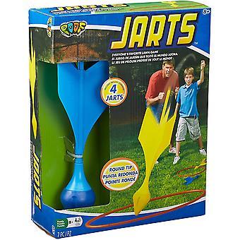 Poof jarts lawn darts with safe round tips - poof jarts flÉchettes pour pelouse avec pointes rondes sÉcuritaires