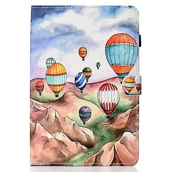 Case For Ipad 8 10.2 2020 Cover With Auto Sleep/wake Pattern Magnetic - Balloon