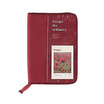 9,7 inch tablet geval laptop opbergtas handtas multifunctionele opbergtas canvas dagboek zakje