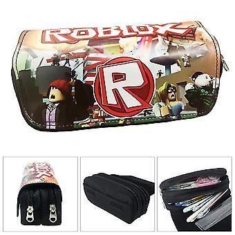 ROBLOX children's double-layer pencil case large capacity(Color-1)