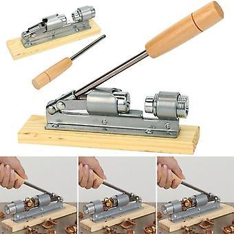 Desktop Wood Base & Handle Opener Tool Nutcracker Pecan Nut Cracker Walnut Plier