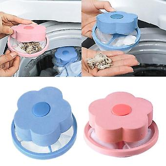 2 PCS Washing Machine Hair Removal Catcher Filter Dirty Fiber Collector Filters Laundry