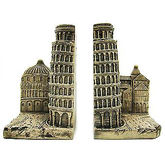 Leaning Tower Of Pisa Bookends Italia