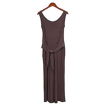 Brittany Humble Women's Jumpsuits Reg Tie-Front Purple 754099