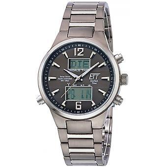 ONE (Eco Tech Time) Grey Titanium OJ-11324-11M Men's Watch