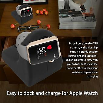 Tpu Docking Stand Holder Charging Cradle For Apple Watch Iwatch 38mm 42mm