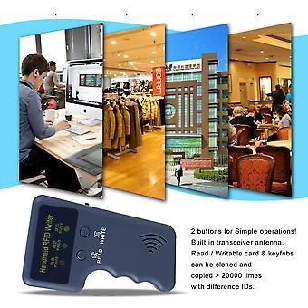 Safety Handheld 125khz Rfid Copier Writer Rfid Duplicator Em Id Copier