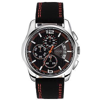 Men's Sport Wristwatch With Orange Hook