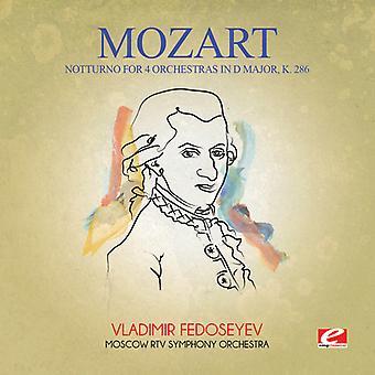 Mozart - Notturno voor 4 orkesten in D grote K. 286 USA importeren