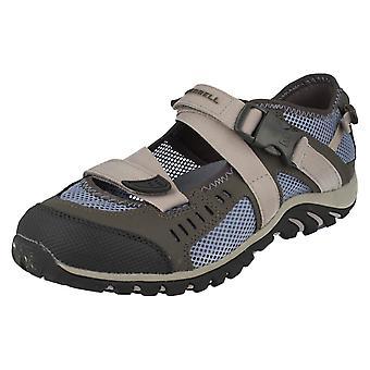 Ladies Merrell Buckle Fastened Closed Toe Casual Shoes Waterpro Crystal
