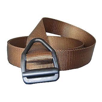 Dessins de bison Dernière Chance LT Gunmetal boucle ceinture - Coyote Brown