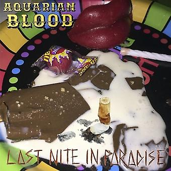 Aquarian Blood - Last Nite in Paradise [Vinyl] USA import