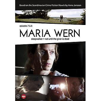 Maria Wern: Episodes 8 & 9 [DVD] USA import