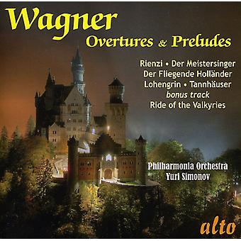 R. Wagner - Wagner: Favourite Overtures & Preludes [CD] USA import