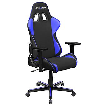 DX Racer DXRacer OH/FH11/NI High-Back Ergonomic Office Desk Chair Strong Mesh+PU(Black/Indigo)