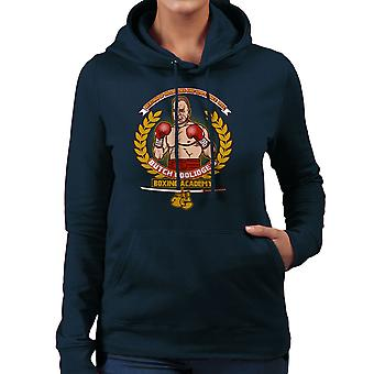 Butch ze Boxing Academy Pulp Fiction vrouwen Hooded Sweatshirt