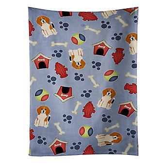Dog House Collection Beagle Tricolor Kitchen Towel