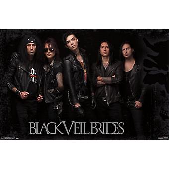 Black Veil Brides - Group IV Poster Print