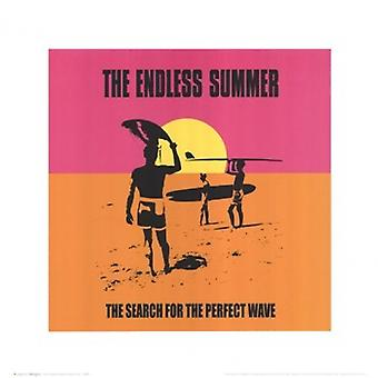 Endless Summer - clássico Poster Poster Print