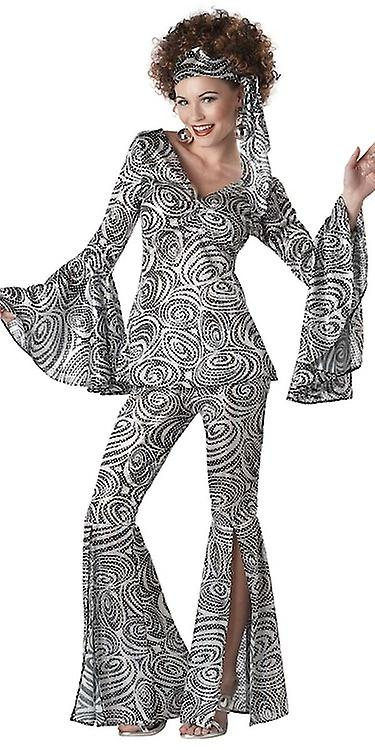Foxy Lady Disco 70s 60s Retro Hippie Women Costume