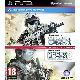 Tom Clancys Ghost Recon Double Pack - Zawiera Ghost Recon Future Soldier Advanced Warfighter 2 - Nowość