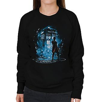 Doctor Who 12th Time Storm Women's Sweatshirt