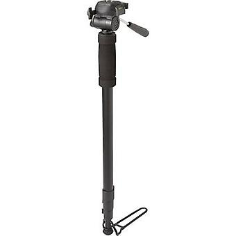 Renkforce Monopod 1/4 Working height=64 - 180 cm Black incl. bag, 360 degree tilting, Level