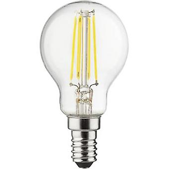 Müller Licht LED EEC A++ (A++ - E) E14 Droplet 4 W = 40 W Warm white (Ø x L) 45 mm x 77 mm Filament 1 pc(s)