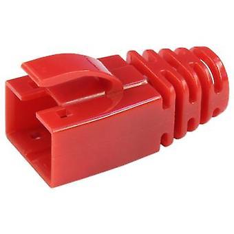 Kilitleme kolu korumalı gerinim kabartma kılıfı 39200-845 Kırmızı BEL Stewart Konektörler 39200-845 1 adet(ler)