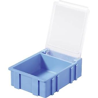 Licefa N32321 SMD Box Weiß Lid Farbe: Transparent 1 Stück (L x B x H) 41 x 37 x 15 mm