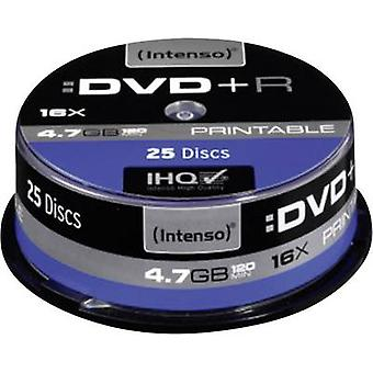 Intenso 4811154 Blank DVD+R 4.7 GB 25 pc(s) Spindle Printable