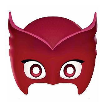 Owlette from PJ Masks Single 2D Card Party Face Mask