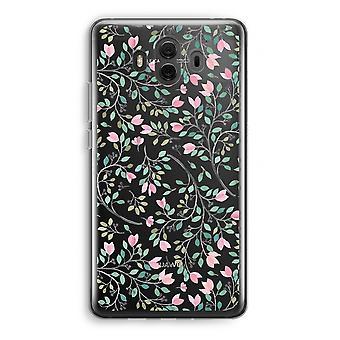 Huawei Mate 10 caso transparente (Soft) - flores delicadas