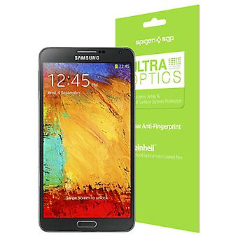 Spigen Ultra Optics Screen Protector for Samsung Galaxy Note 3