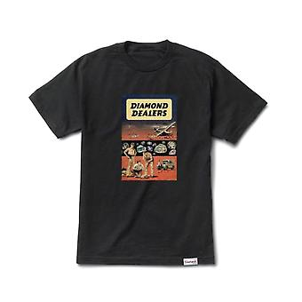 Diamond Supply Co Dealers T-shirt Black