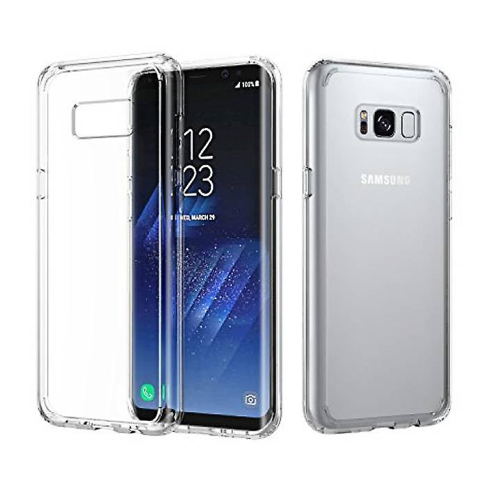Stuff Certified® Transparent Clear Silicone Case Cover TPU Case Samsung Galaxy S8