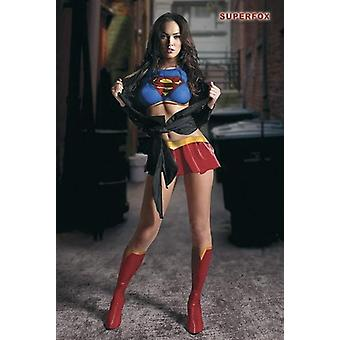 Megan Fox Superfox poster