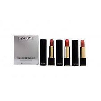 Lancôme L'Absolu Rouge crème Lipcolor Gift Set 3,4 g 202 Nuit & Jour + 3,4 g 262 Imprevu + 3,4 g 331 Fleur Impressionniste