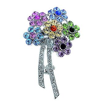 Oliver Weber Brooch Flower Bunch