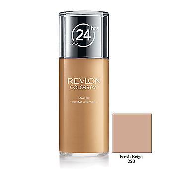 Revlon Colorstay Trucco Normale / Asciutto Pelle-250 Fresco Beige 30ml