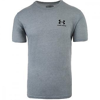 鎧 Sportstyle 左胸 1326799036 ユニバーサルの下ですべての年の男性 t シャツ