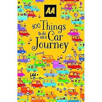 100 rzeczy do zrobienia na podróż samochodem