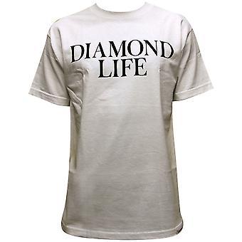 Co de suministro de diamantes diamante vida camiseta blanco