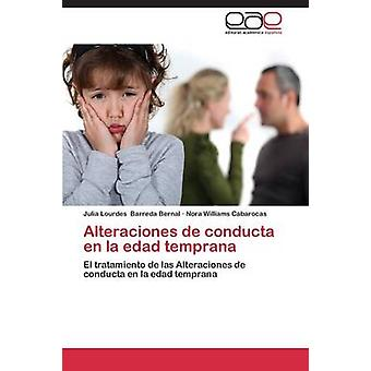 Alteraciones de Conducta En La Edad Temprana di Barreda Bernal Julia Lourdes