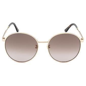 Gucci Round Sunglasses GG0206SK 003 58