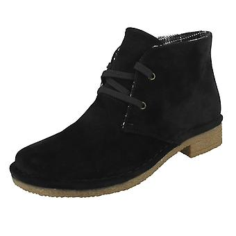 Ladies Down To Earth Lace Up Shoes