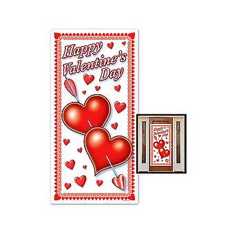 "Happy Valentine's Day deur cover 30 ""x 5"""